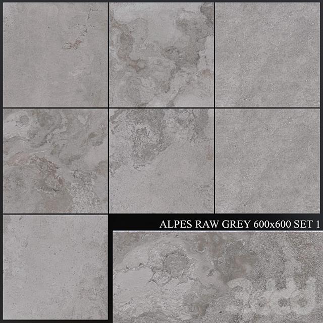 ABK Alpes Raw Grey 600x600 Set 1
