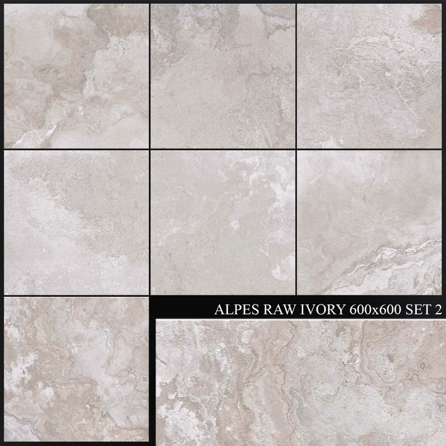 ABK Alpes Raw Ivory 600x600 Set 2