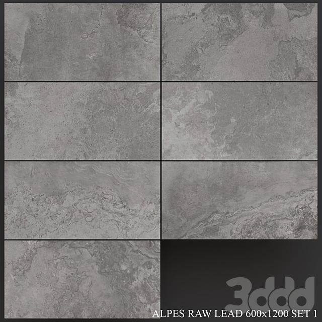 ABK Alpes Raw Lead 600x1200 Set 1