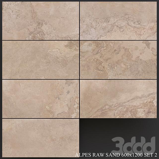 ABK Alpes Raw Sand 600x1200 Set 2