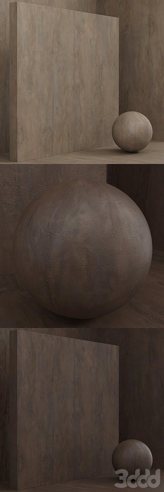 Материал (бесшовный) - штукатурка, ржавчина, плита set 98