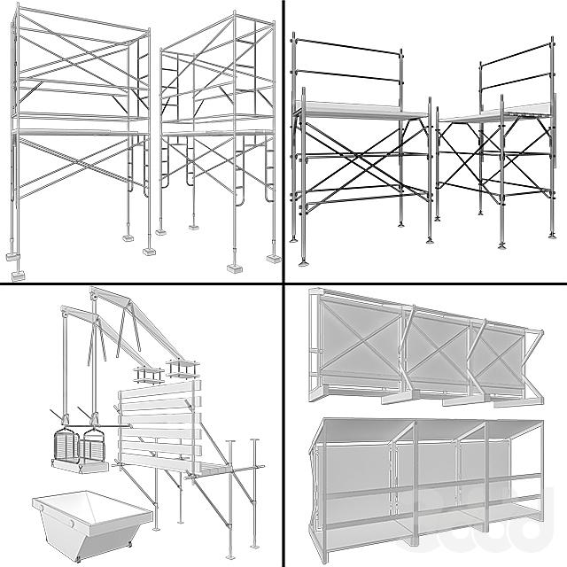 Строительные леса и конструкции