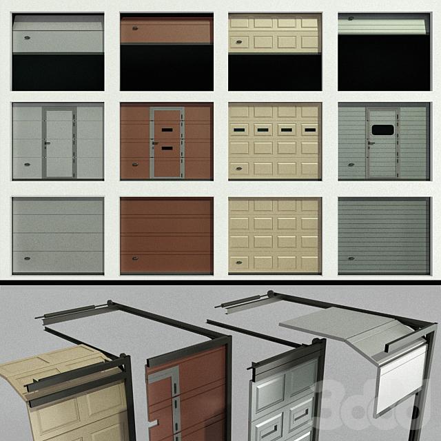 Ворота для гаража или склада