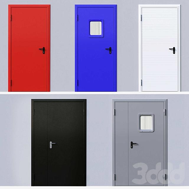 Противопожарные двери DoorHan