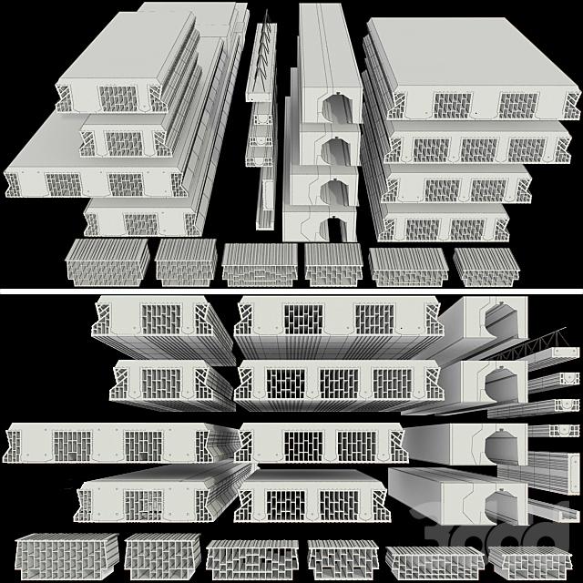 Набор керамических блоков phoroterm, часть II
