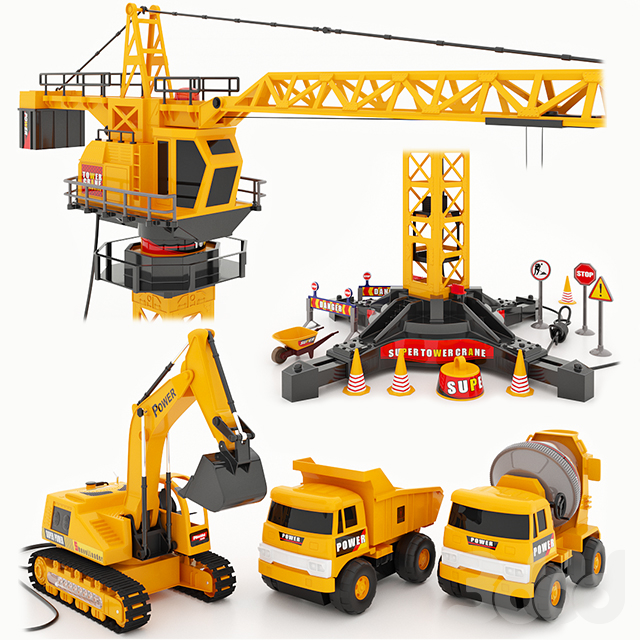 Игровой набор Mod-Builder и Mioshi Tech