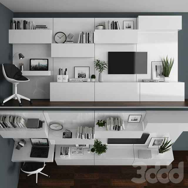 TV stand set 048