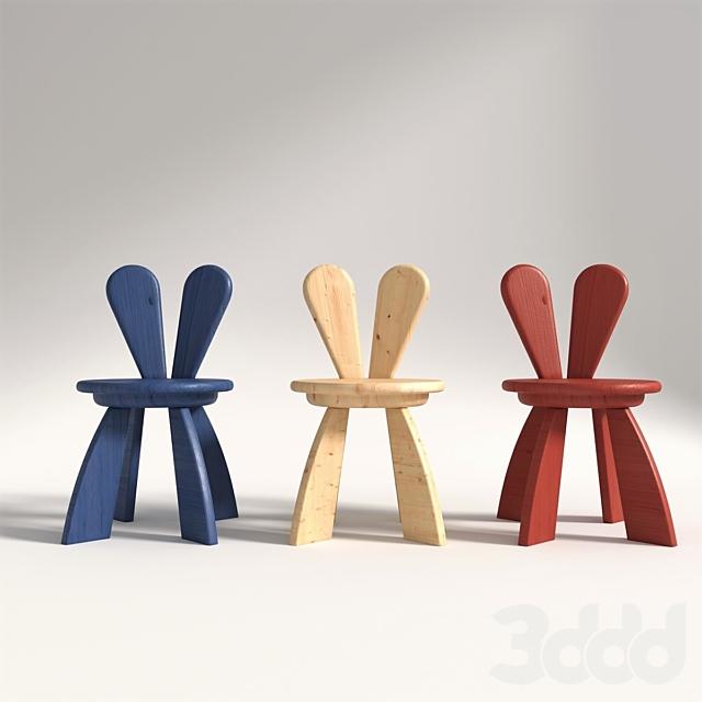Rabbit chair WF Hiromatsu Kid