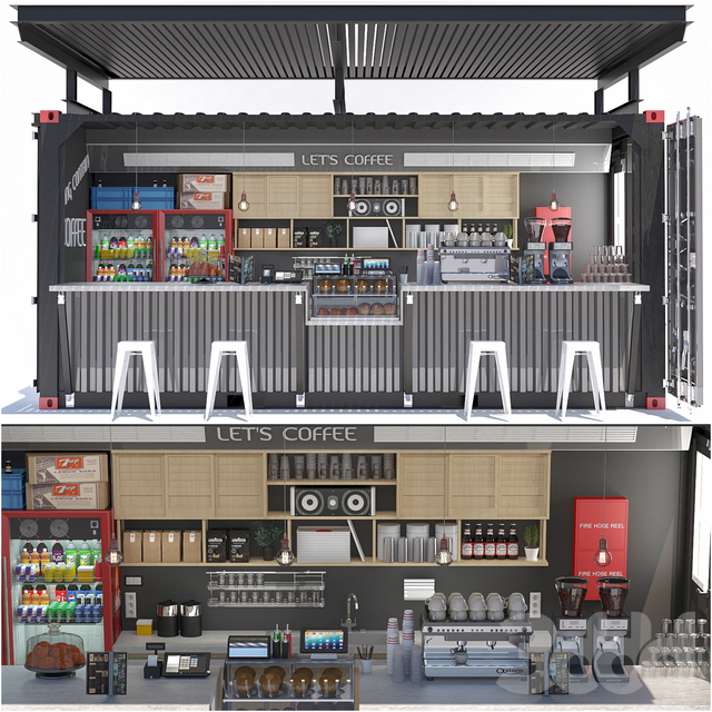 JC Shipping Container Coffee