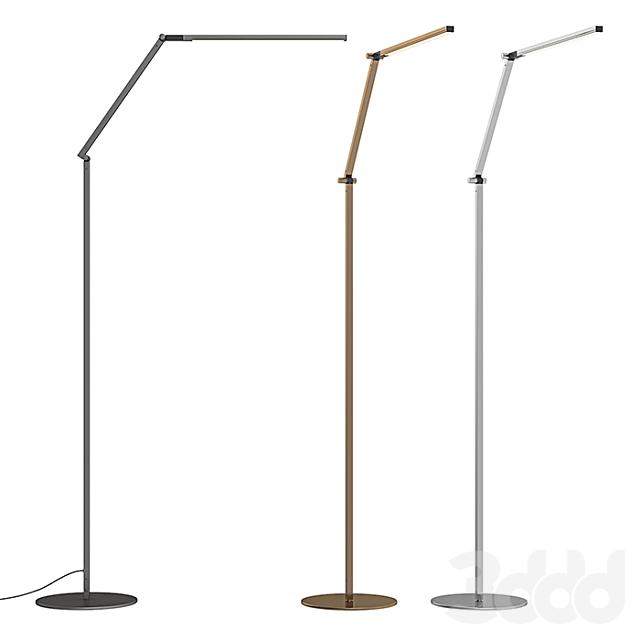 RH - Z Bar LED Task Floor Lamp