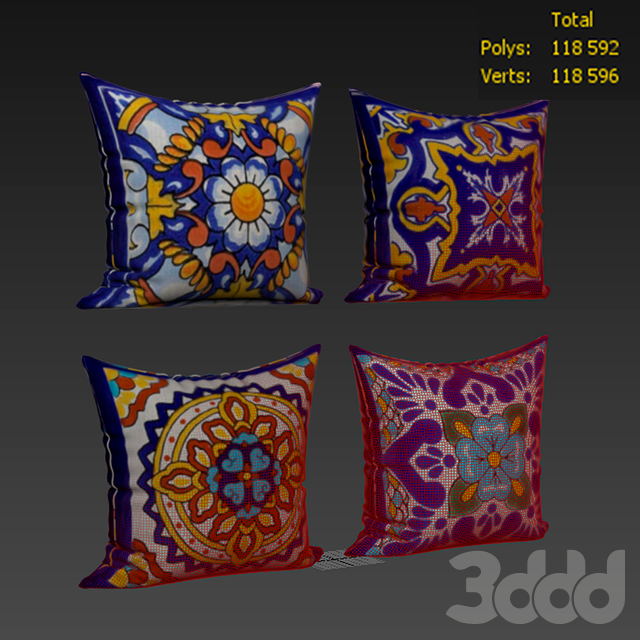 Decorative pillows set 353 WholesaleSarong