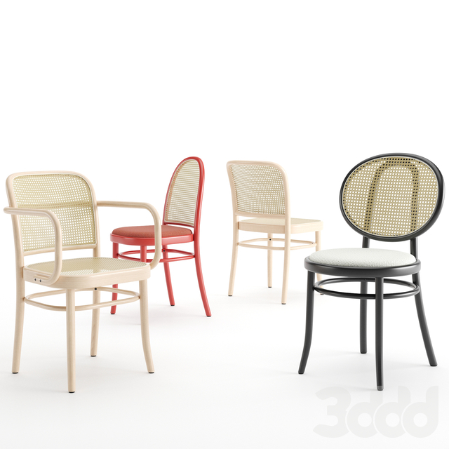 N 811, N 0 and Morris chairs by thonet,vienna