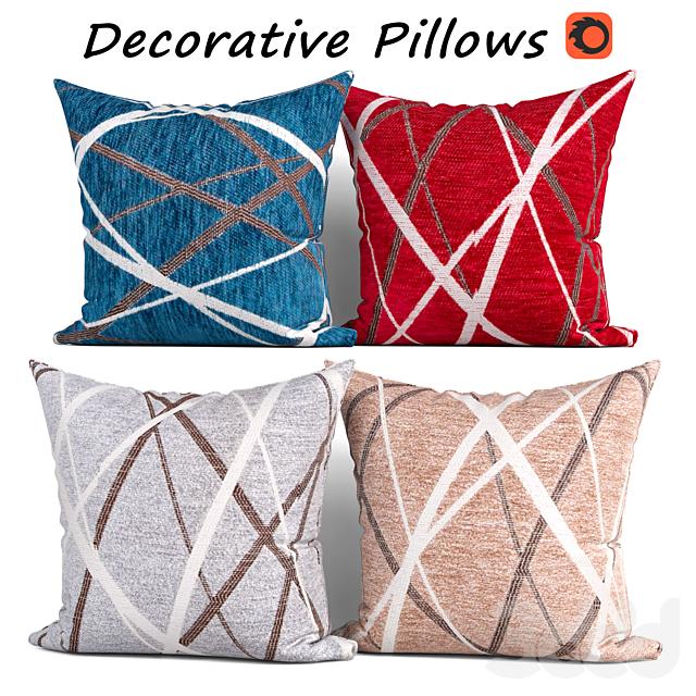 Decorative pillows set 359
