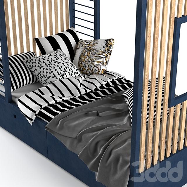 Детская кровать - домик