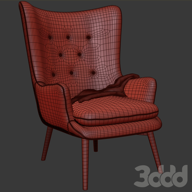 Aarmo Wing Chair Armchair