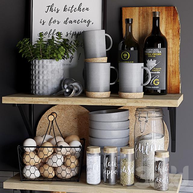 Декоративный набор для кухни 6