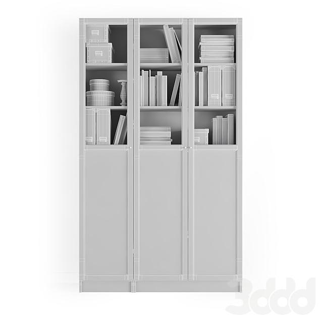 Стеллаж Билли / Оксберг Ikea.Комбинация-7
