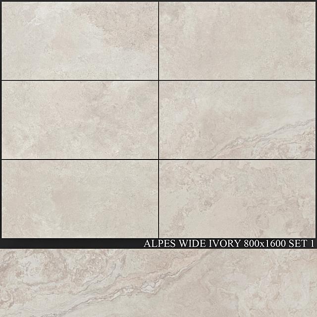 ABK Alpes Wide Ivory 800x1600 Set 1