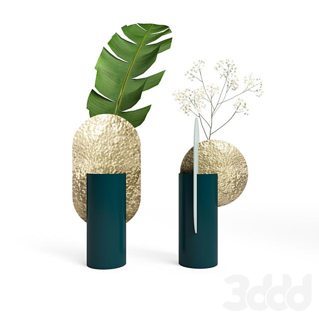(OM) Genke and Yermilov vases by NOOM