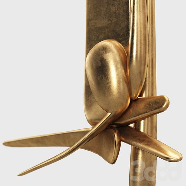 David Borgerding Haprt Abstract sculpture