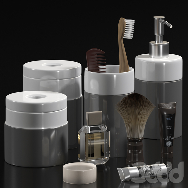 bathroom accessories set 8