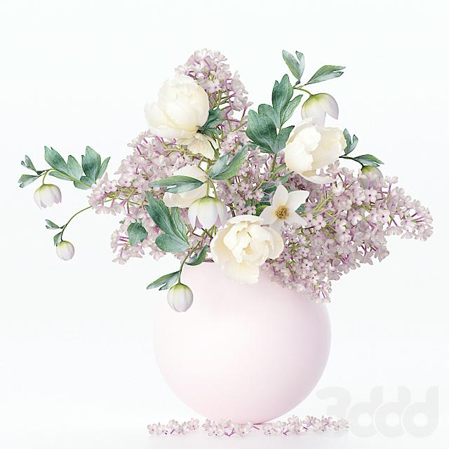 Букет цветов в вазе 31