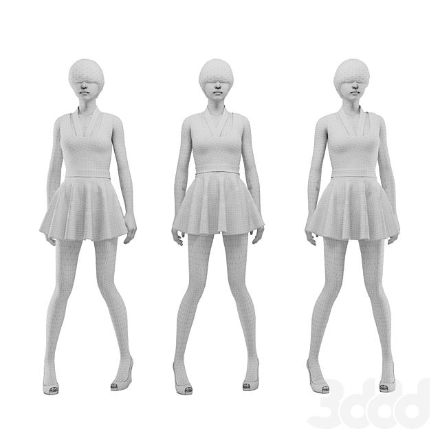 female mannequin 01