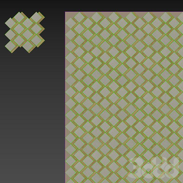 ATLAS CONCORDE NID Natural Mosaico Domino