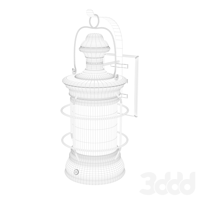 Lantern sconce