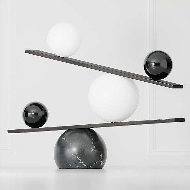 OBLURE - Balance Black Oblure and Brass Oblure