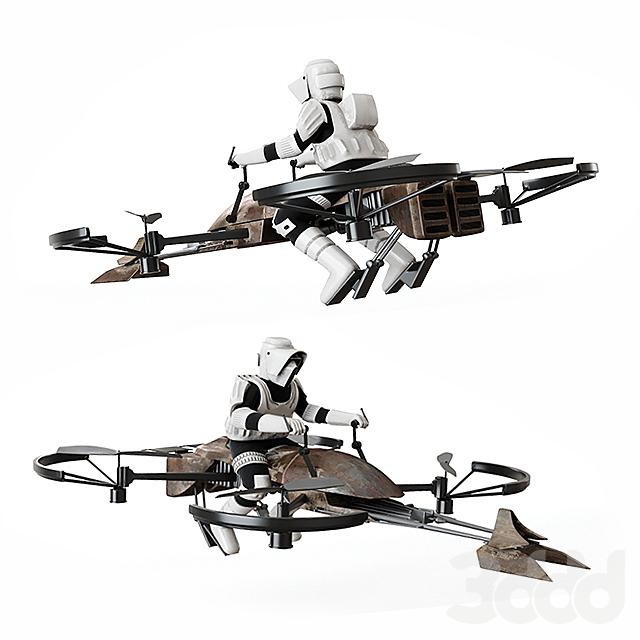 Дрон Star Wars
