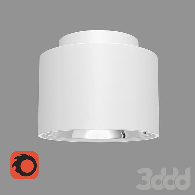 Накладной потолочный светильник Elektrostandard 1069 GX53 WH