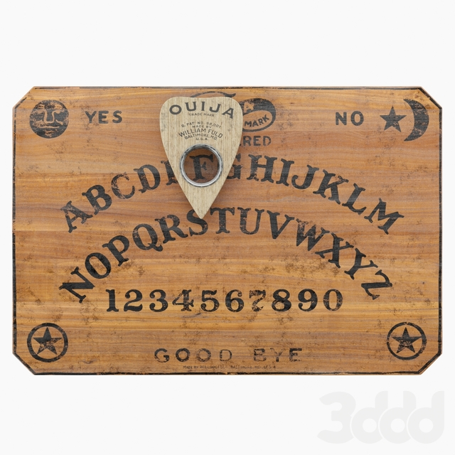 Ouija Board and Planchette