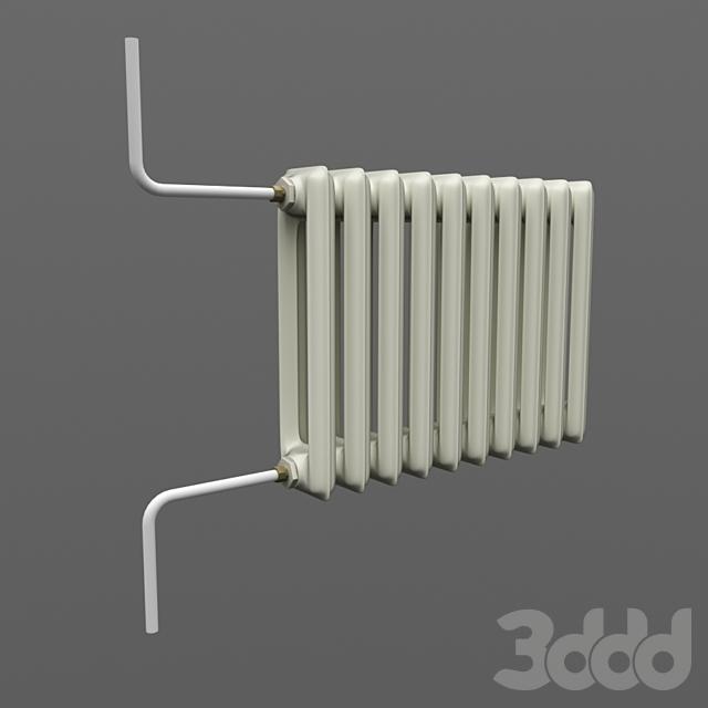 Радиатор  чугунный МС-140 М СССР