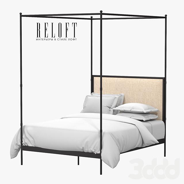 Металлическая кровать с балдахином 19th c. French Iron Canopy 10006533 BLSA