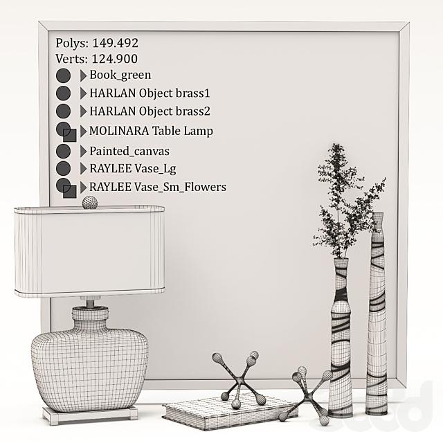 Uttermost / Molinara Decorative Set