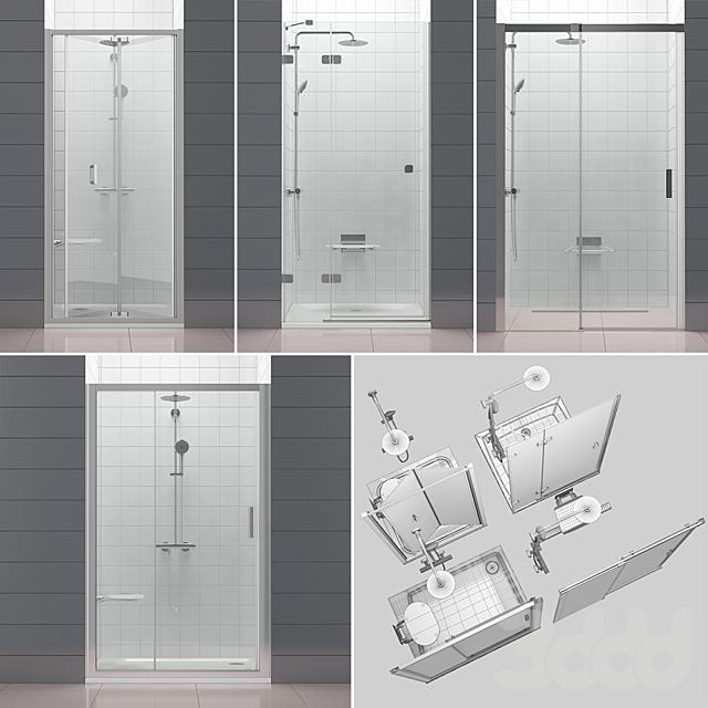 Набор душевых дверей RAVAK set 52