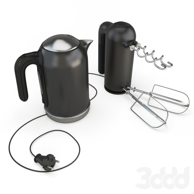 Kmix Kettle and Hand Mixer