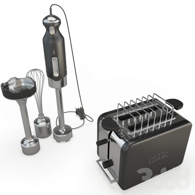 Kmix Hand Blender and Toaster