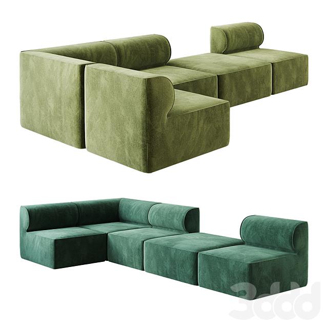 Eave Modular Sofa option 04