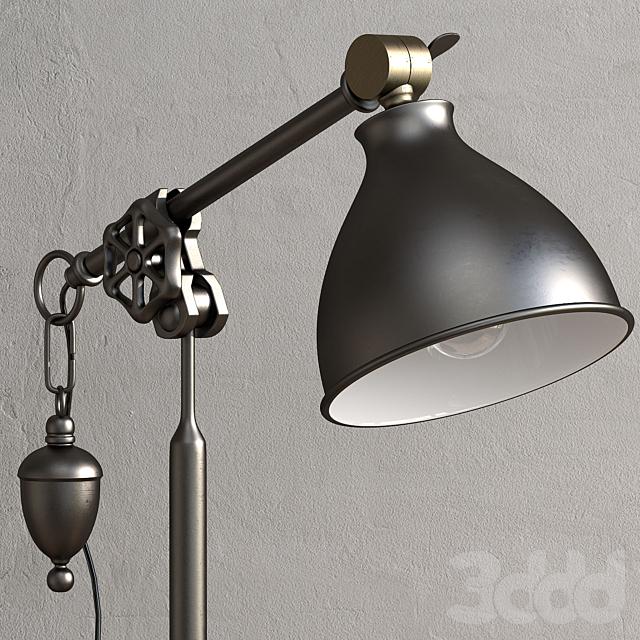 Pottery Barn TILDEN TASK TABLE LAMP