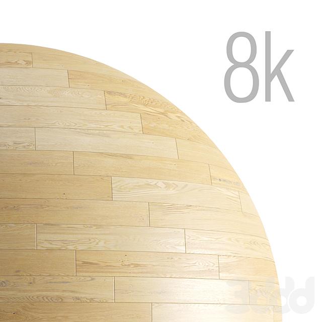 Бесшовная текстура паркета из светлого дуба. PBR 8k