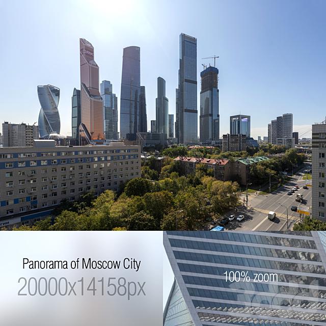Вид на Москва-Сити. 20k