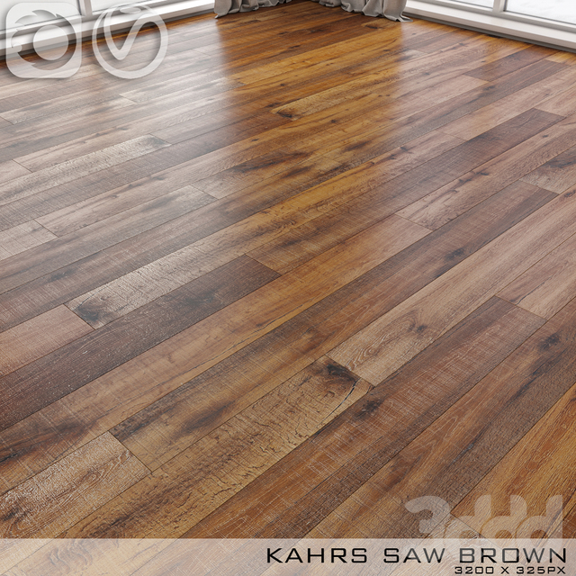 Паркет Kahrs Oak Saw Brown
