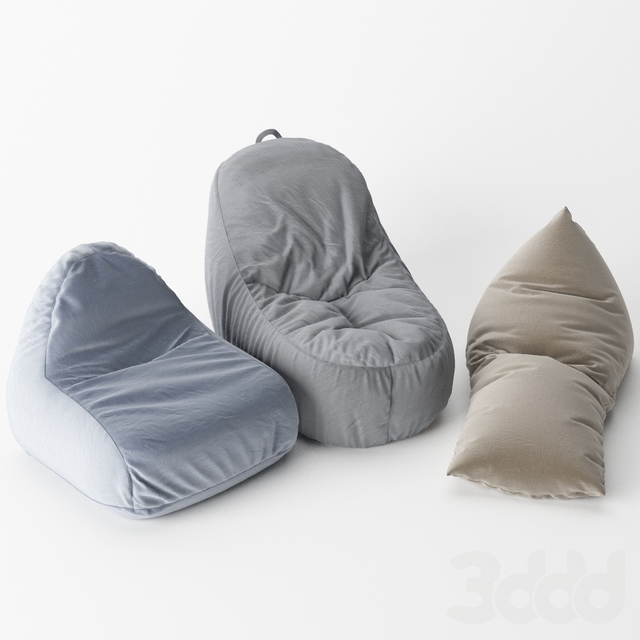 Set Bean Bags (IKEA and Woodnotes)