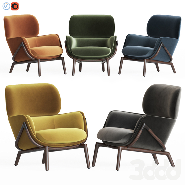 Elysia Lounge Chair Kooku