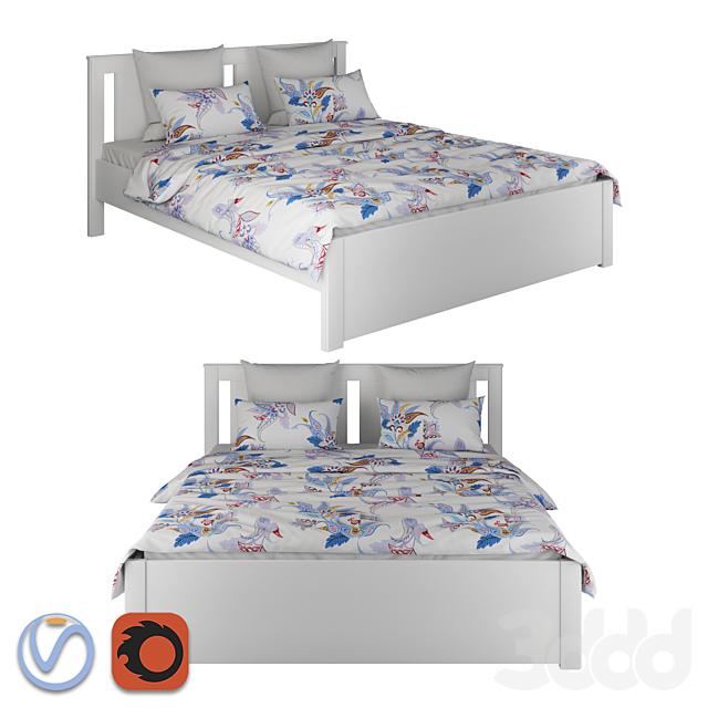 IKEA SONGESAND Bed / Кровать ИКЕА СОНГЕСАНД