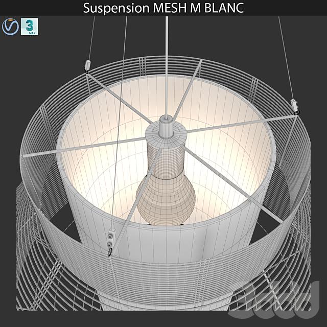 Suspension MESH M BLANC