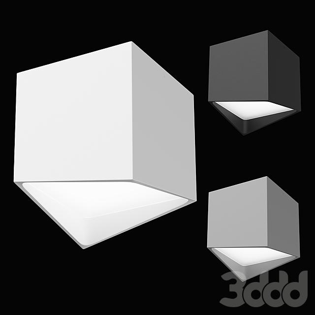 21147x Quadro Lightstar Светильник накладной заливающего света