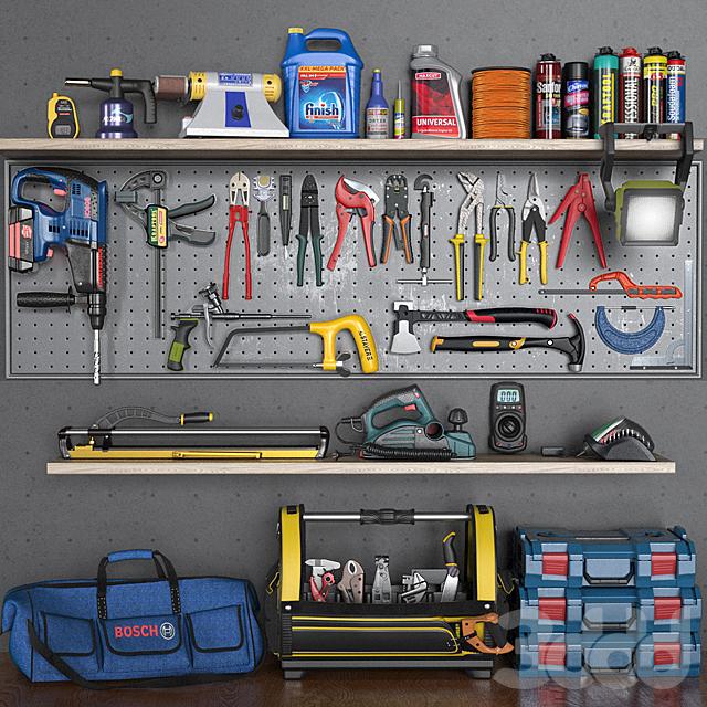 garage tools set 5